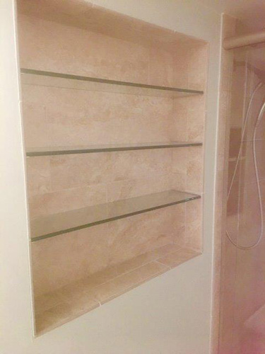 Paradise Glass and Mirror offers Glass Shelves in Marco Island and Naples, FL