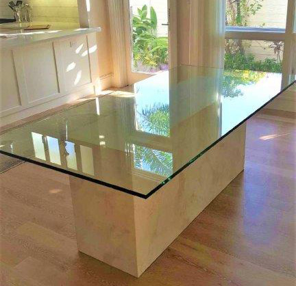 Glass Table Tops By Paradise Glass And Mirror In Marco