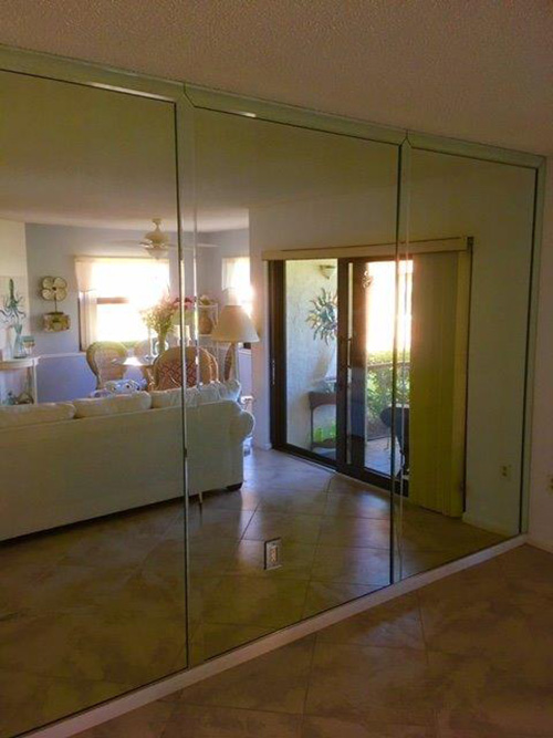 Wall Mirrors By Paradise Glass And Mirror In Marco Island Fl