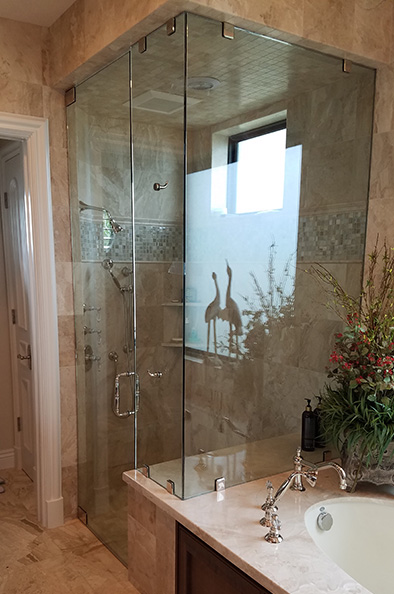 Door And Panel Showers By Paradise Glass And Mirror In