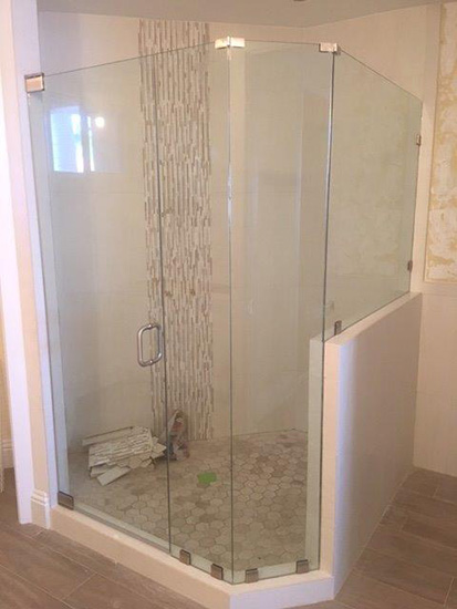 Frameless Showers By Paradise Glass And Mirror In Marco Island Fl