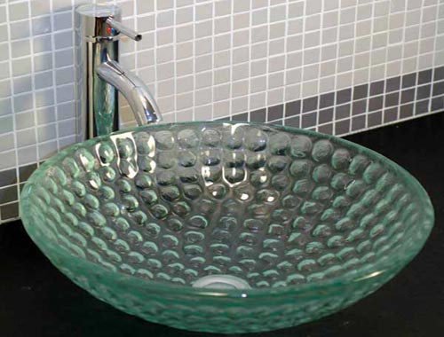Glass Sinks By Paradise Glass And Mirror In Naples FL - Bathroom fixtures naples fl