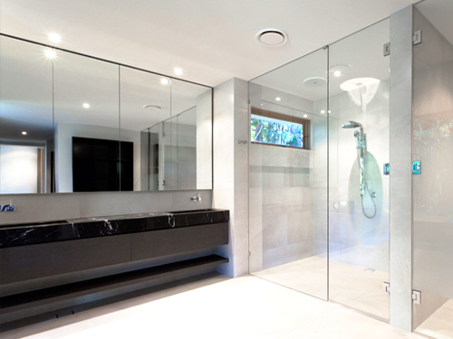 Showers, glass and mirrors in Marco Island Florida