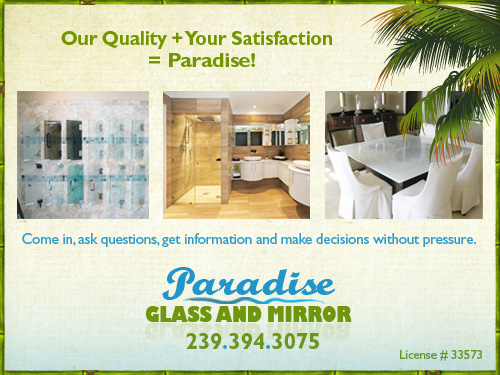 Showers Glass And Mirrors In Naples Fl